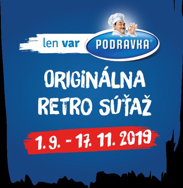 logo Podravka Original Retro súťaž